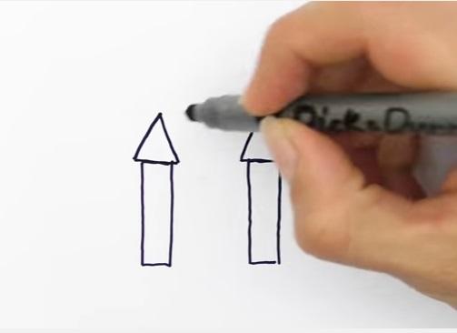 как нарисовать замок детям легко и красиво фото и видео 13