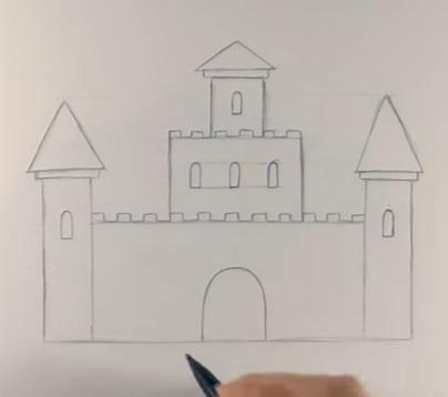 Шаг №5 - окна и ворота
