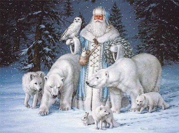 Дедушка Мороз и Снегурочка фото 5