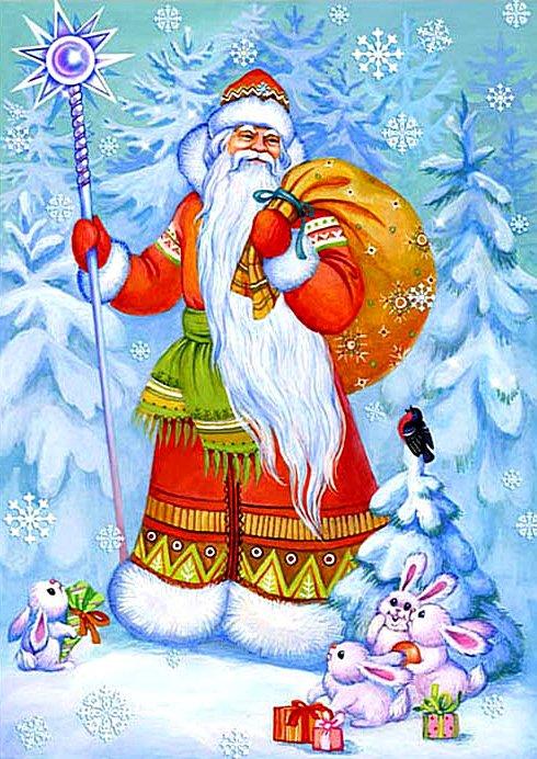 Дедушка Мороз и Снегурочка фото 9