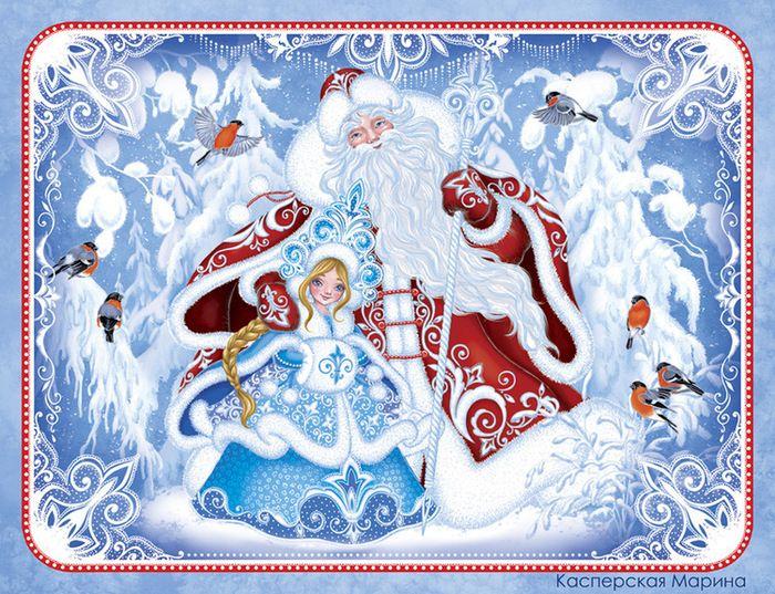 Дедушка Мороз и Снегурочка фото 12