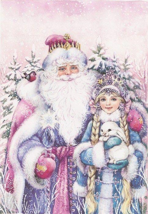 Дедушка Мороз и Снегурочка фото 14