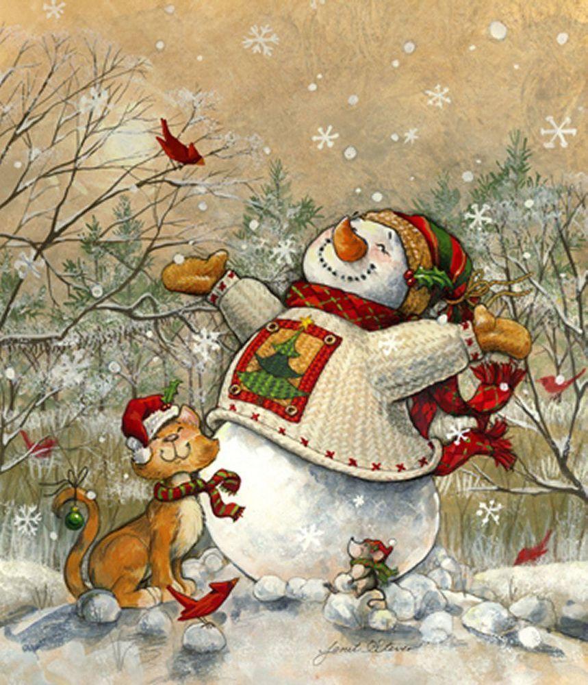 помощник Деда Мороза - Снеговик фото 1