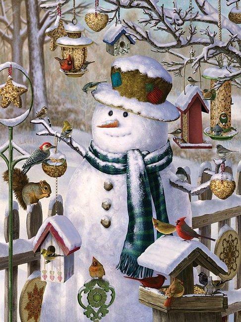 помощник Деда Мороза - Снеговик фото 5