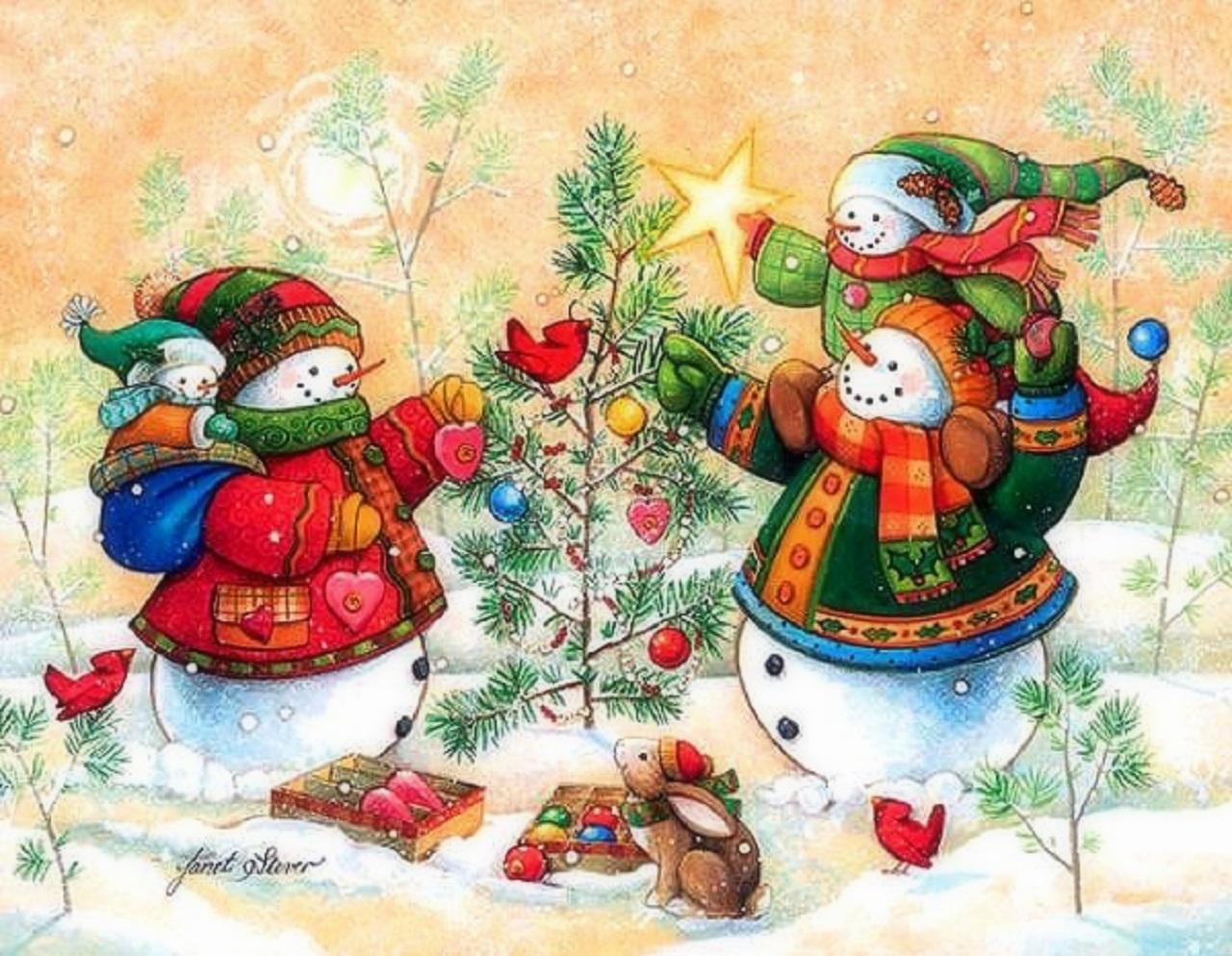 помощник Деда Мороза - Снеговик фото 6