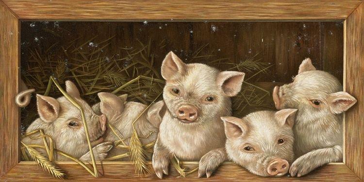 Символ 2019 года - Свинья (Хрюшка) фото 3