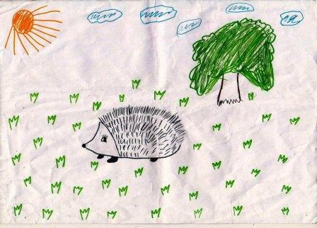 животные и осень фото 3