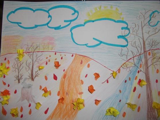 готовые работы на тему «Осенний пейзаж» фото 1
