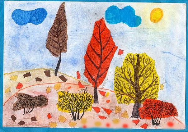 готовые работы на тему «Осенний пейзаж» фото 2