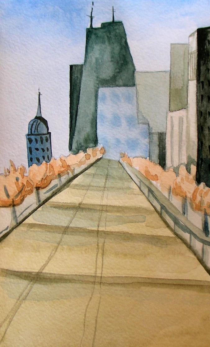 городской пейзаж рисунок карандашом 6 класс поэтапно - другие варианты на фото 4