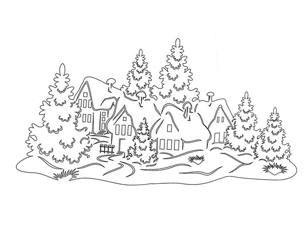 зимние пейзажи фото 1