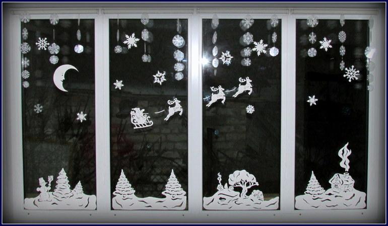 новогодние вытынанки 2019 или другой декор фото 3