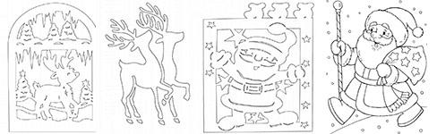 Дед Мороз, снегурочка, сани фото 12