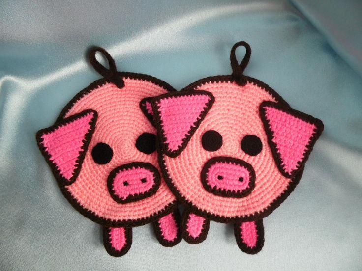 прихватка-свинья мастер-класс фото 1