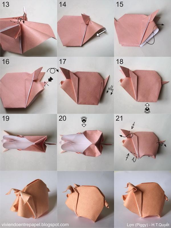 оригами из бумаги и картона схемы фото 1