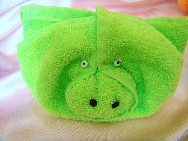 свинья из полотенца выполненная своими руками фото 1