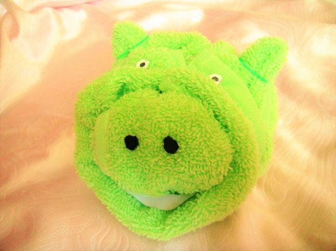 свинья из полотенца выполненная своими руками фото 2