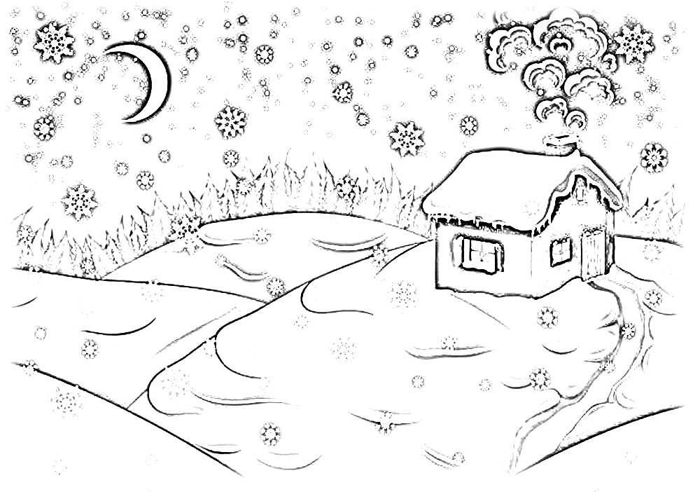 идея №10 - первый снег