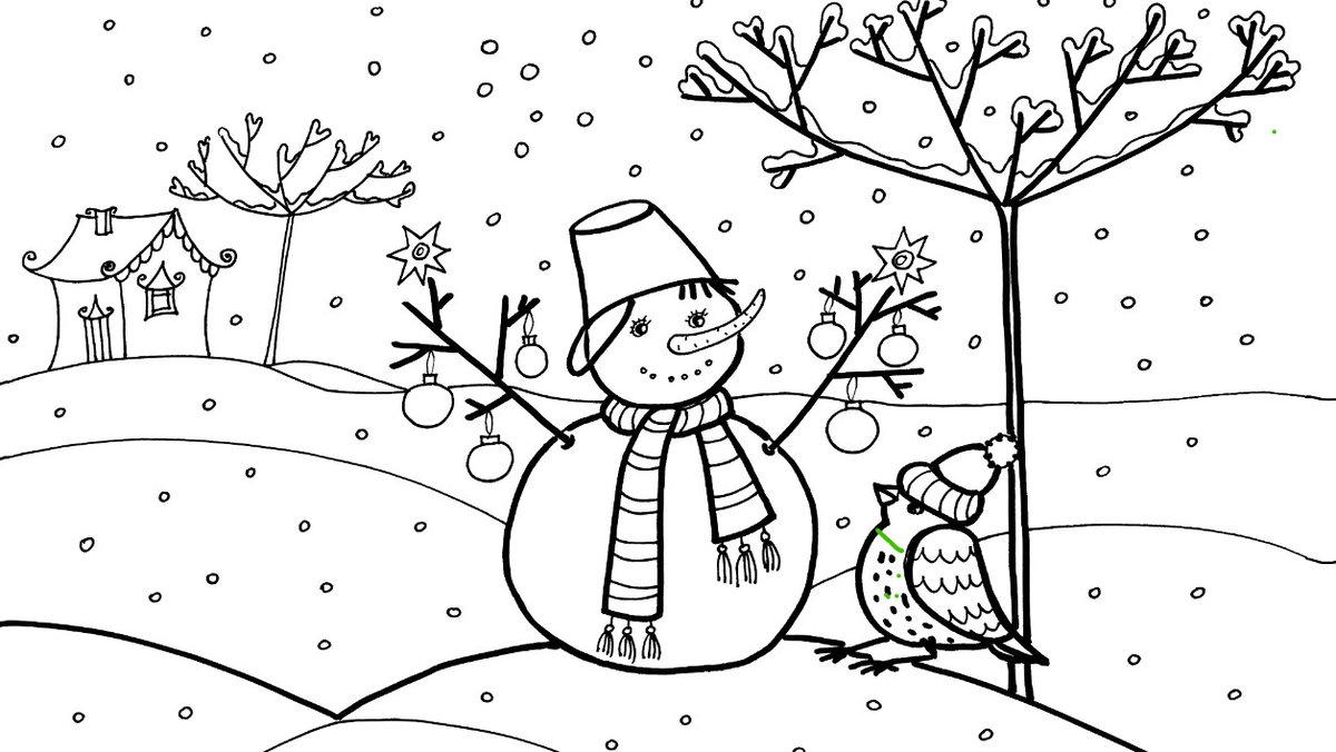рисунки карандашом на тему «Декабрь 2018», фото 2