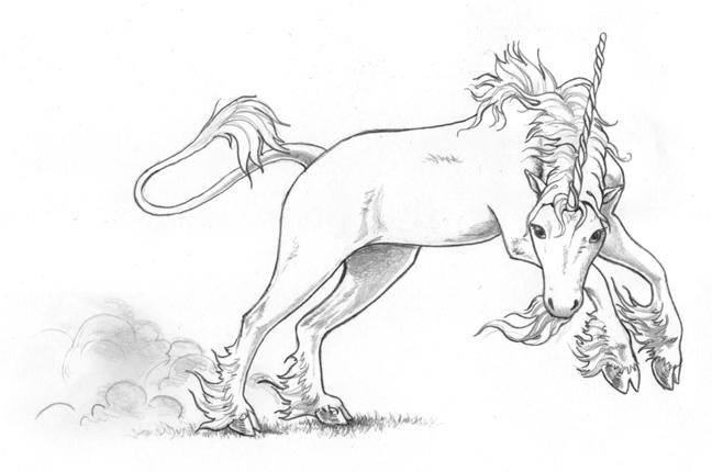 единорог рисунок карандашом для срисовки, фото подборка и идеи 5