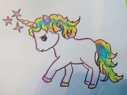 единорог рисунок карандашом для срисовки, фото подборка и идеи 8