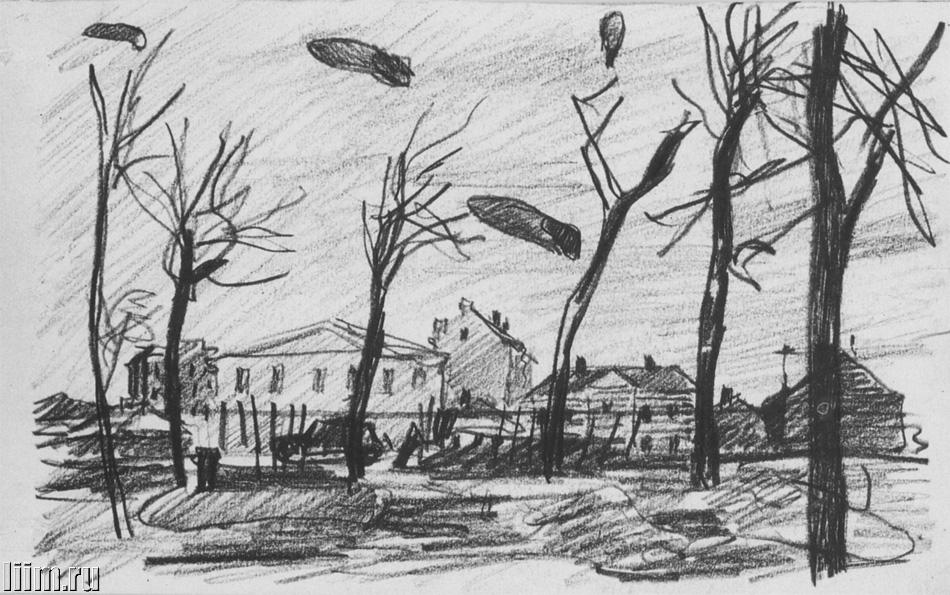 ноябрь 2018 рисунки карандашом, фото 1