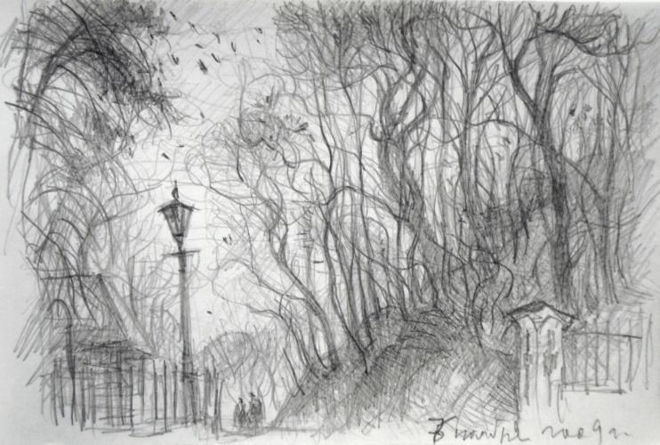ноябрь 2018 рисунки карандашом, фото 3