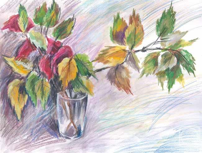 октябрь 2018 рисунки карандашом, фото 8