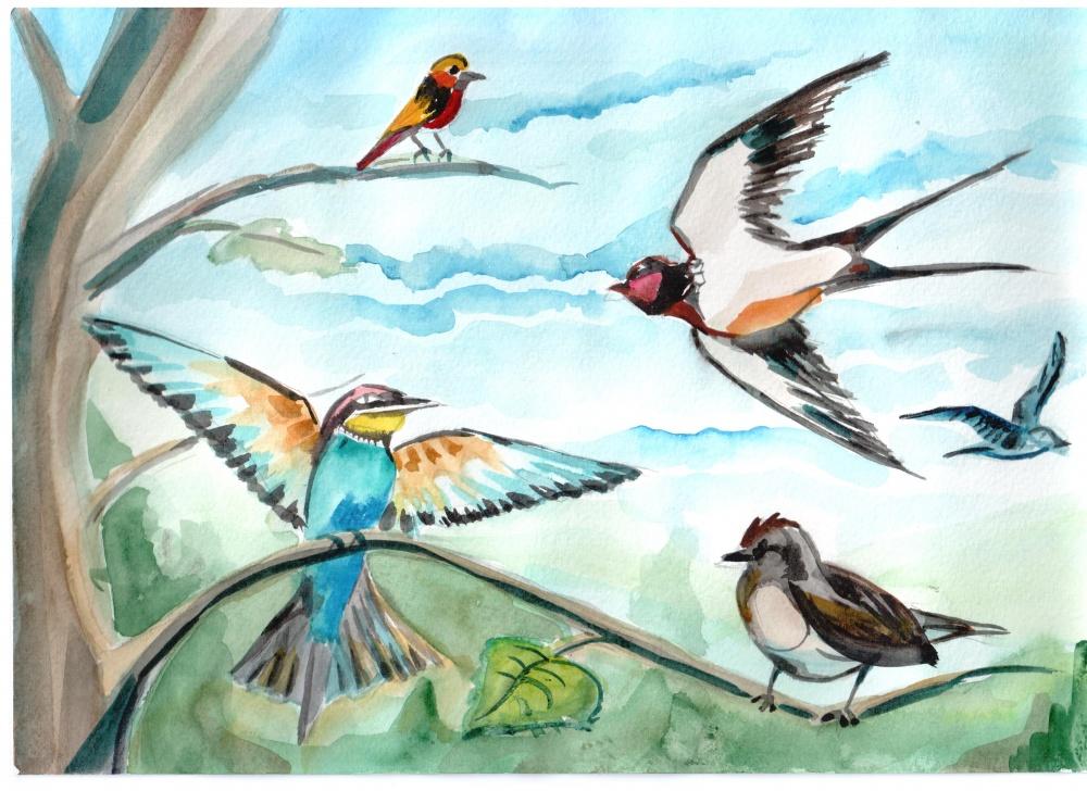 идея №7 - перелетные птицы