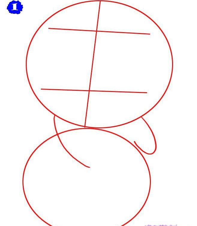 как нарисовать аниме панду из мультфильма карандашом фото 1