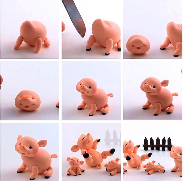 другие мастер-классы со свинкой на фото 2