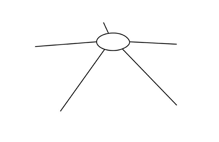 вечный огонь рисунок карандашом - легкий МК с фото 1