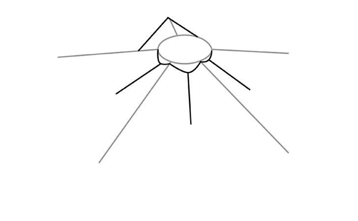 вечный огонь рисунок карандашом - легкий МК с фото 2