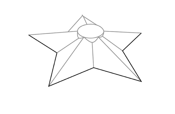 вечный огонь рисунок карандашом - легкий МК с фото 3