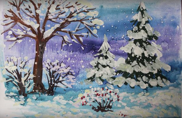 красота зимнего леса фото 1