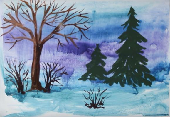 красота зимнего леса фото 5