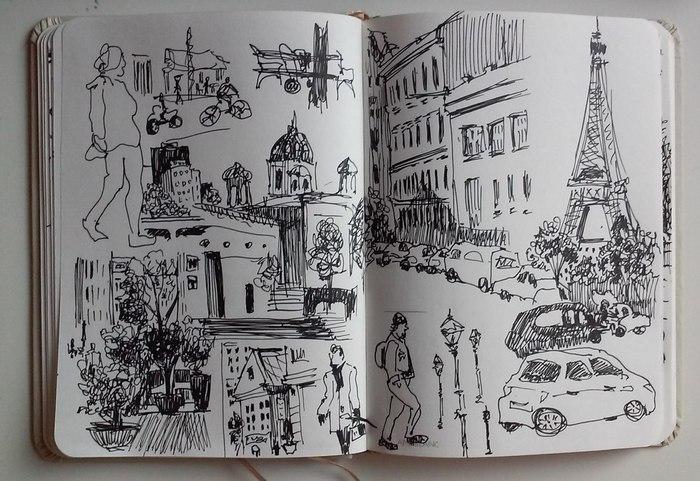 зарисовка на тему «Франция»
