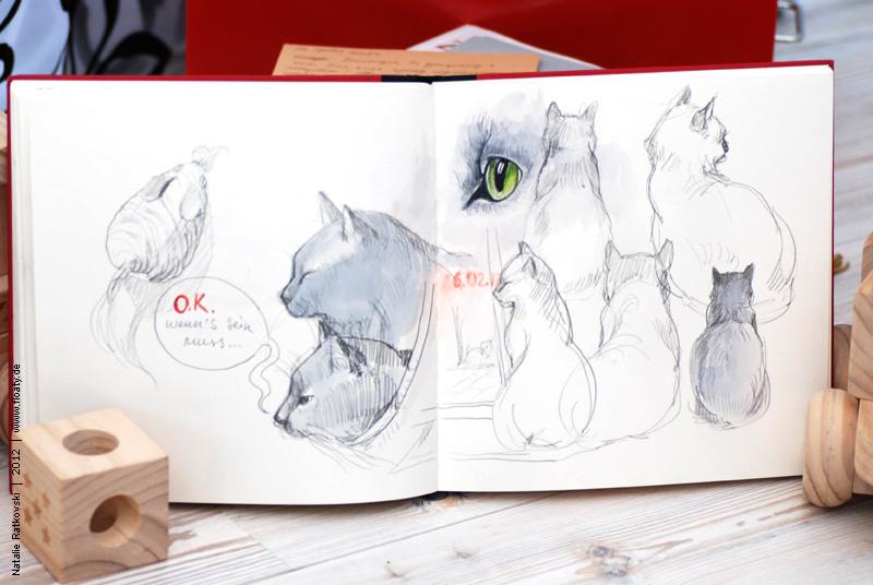 зарисовка диких и домашних животных фото 2