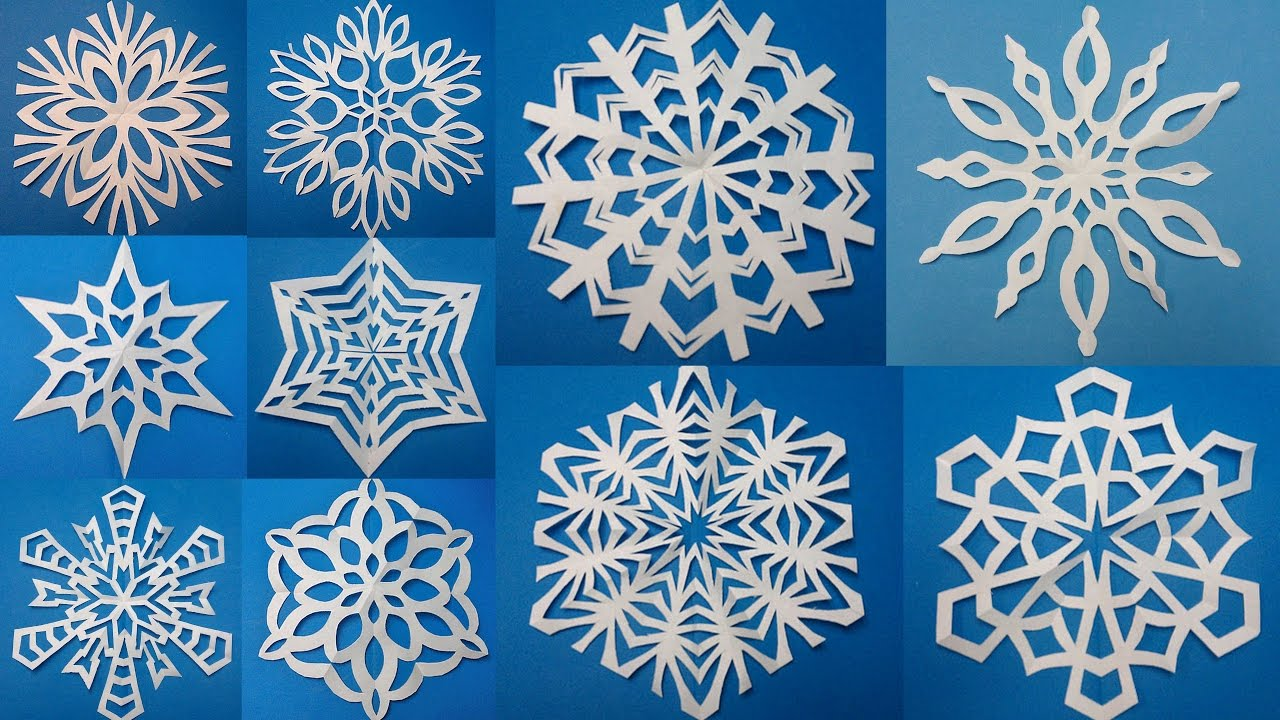 как вырезать снежинки из бумаги на Новый год 2019? Мастер-класс с фото 4