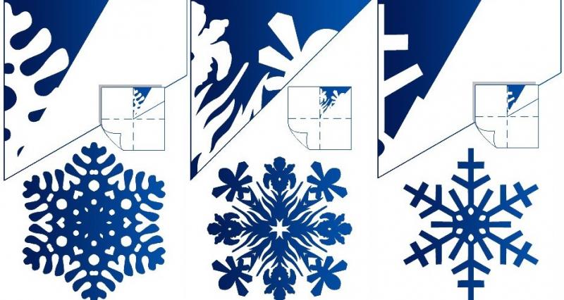 как вырезать снежинки из бумаги на Новый год 2019? Мастер-класс с фото 6