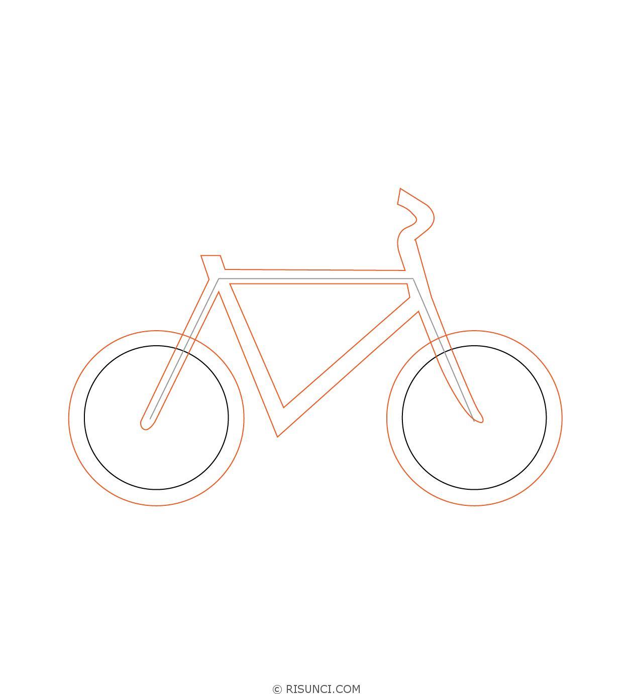 картинки велосипедиста карандашом поэтапно них, самых-самых низкорослых