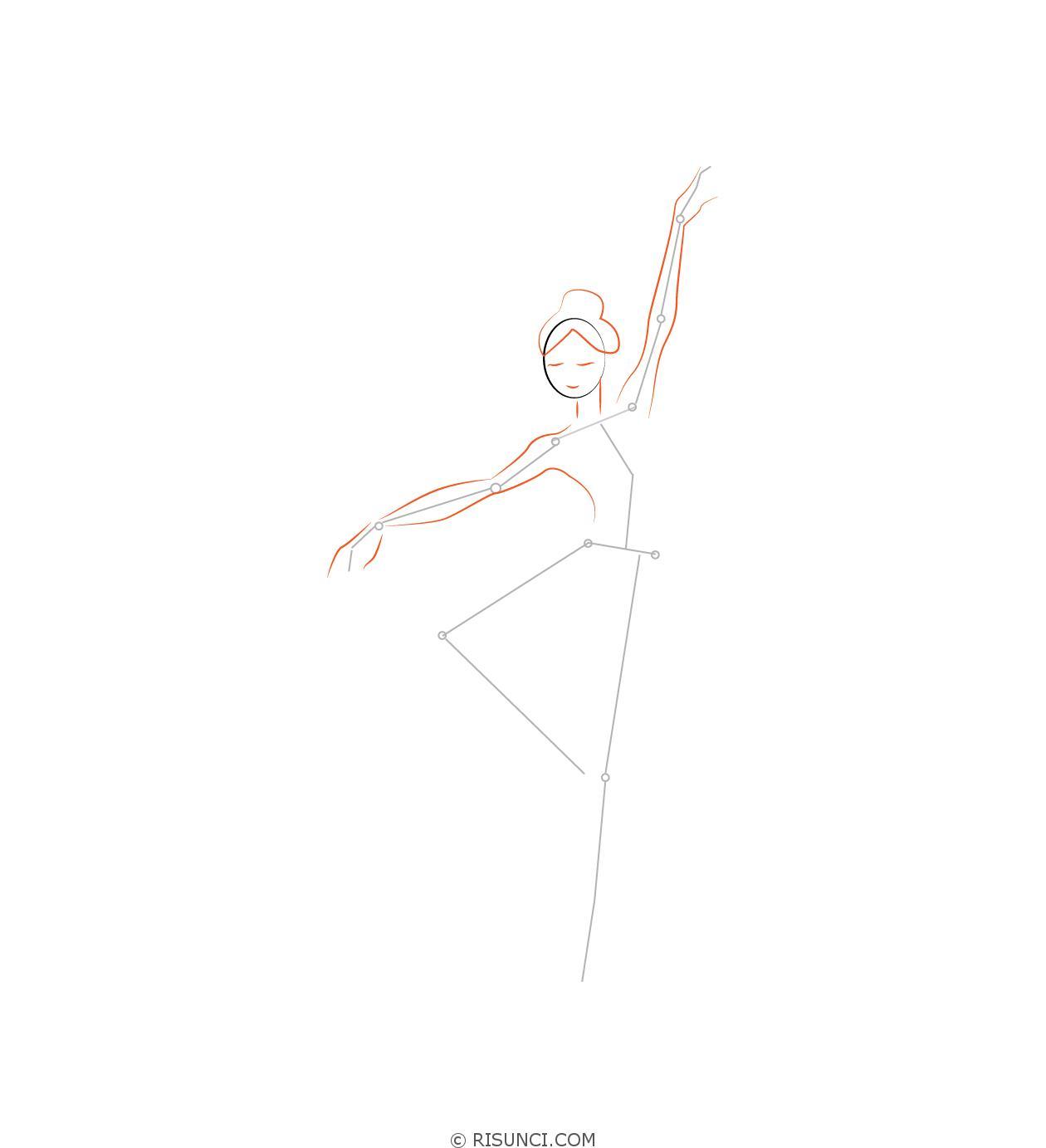 картинки поэтапно карандашом балерин прикольные смешные фото