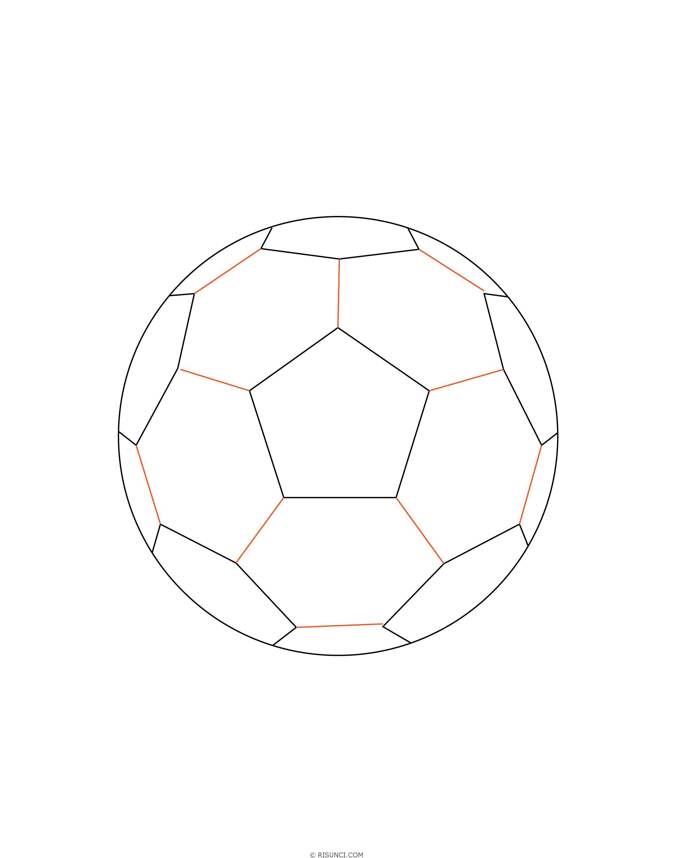 Детские рисунки футбольный мяч