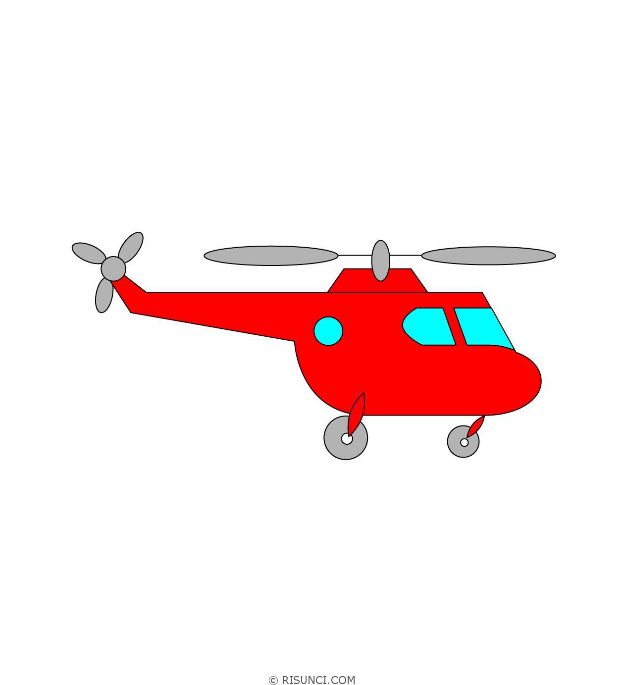 картинка рисунок вертолета кадрах видно