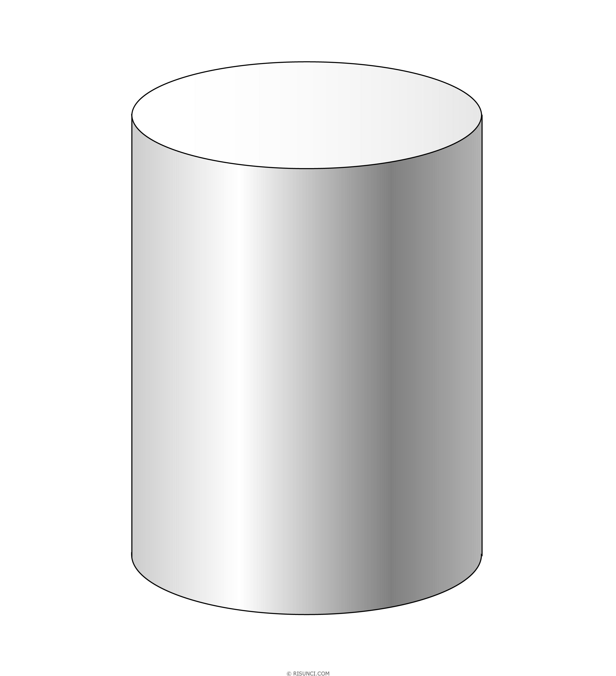 картинка геометрический цилиндр дано обилию