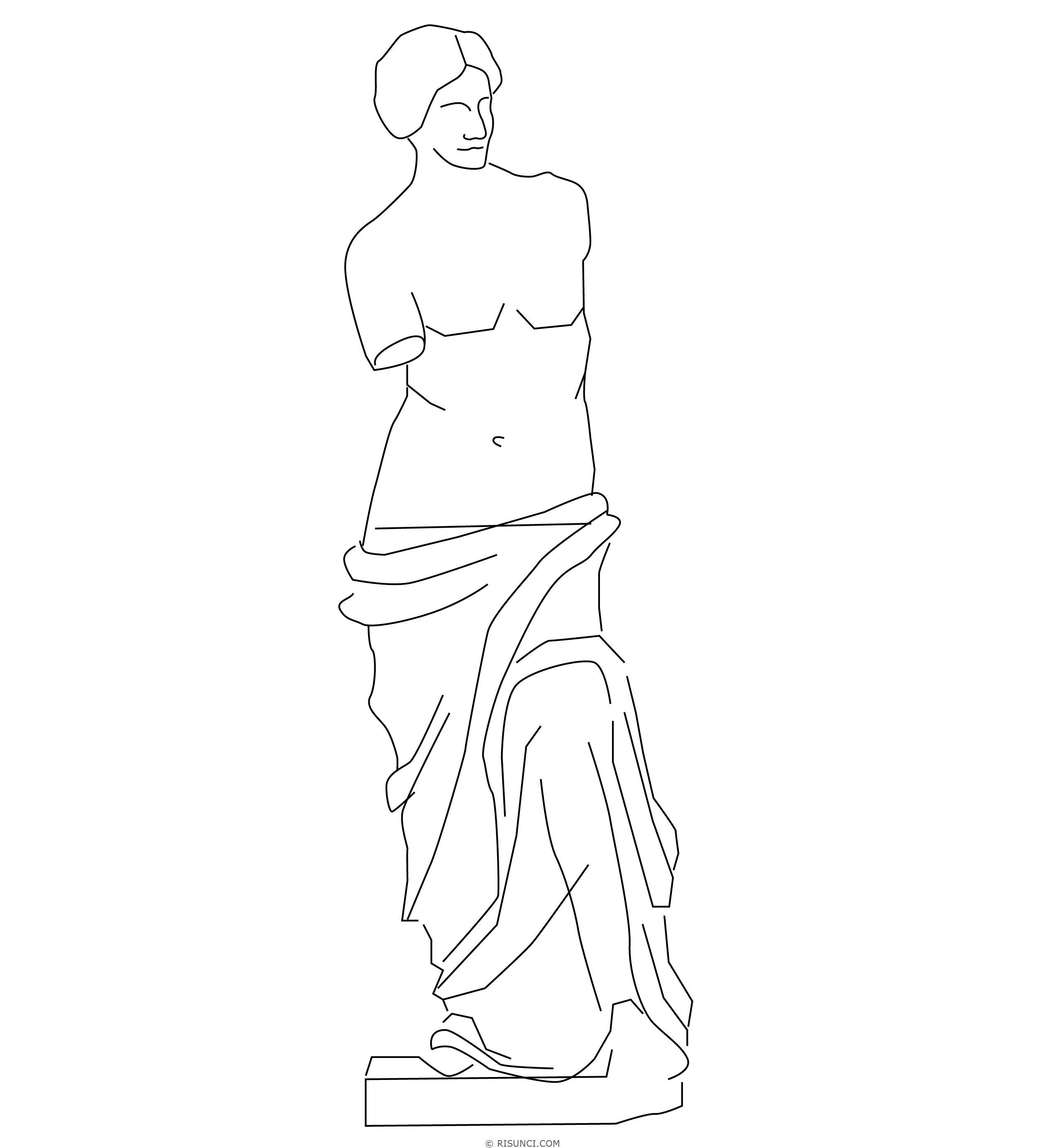 Рисунки скульптуры карандашом поэтапно