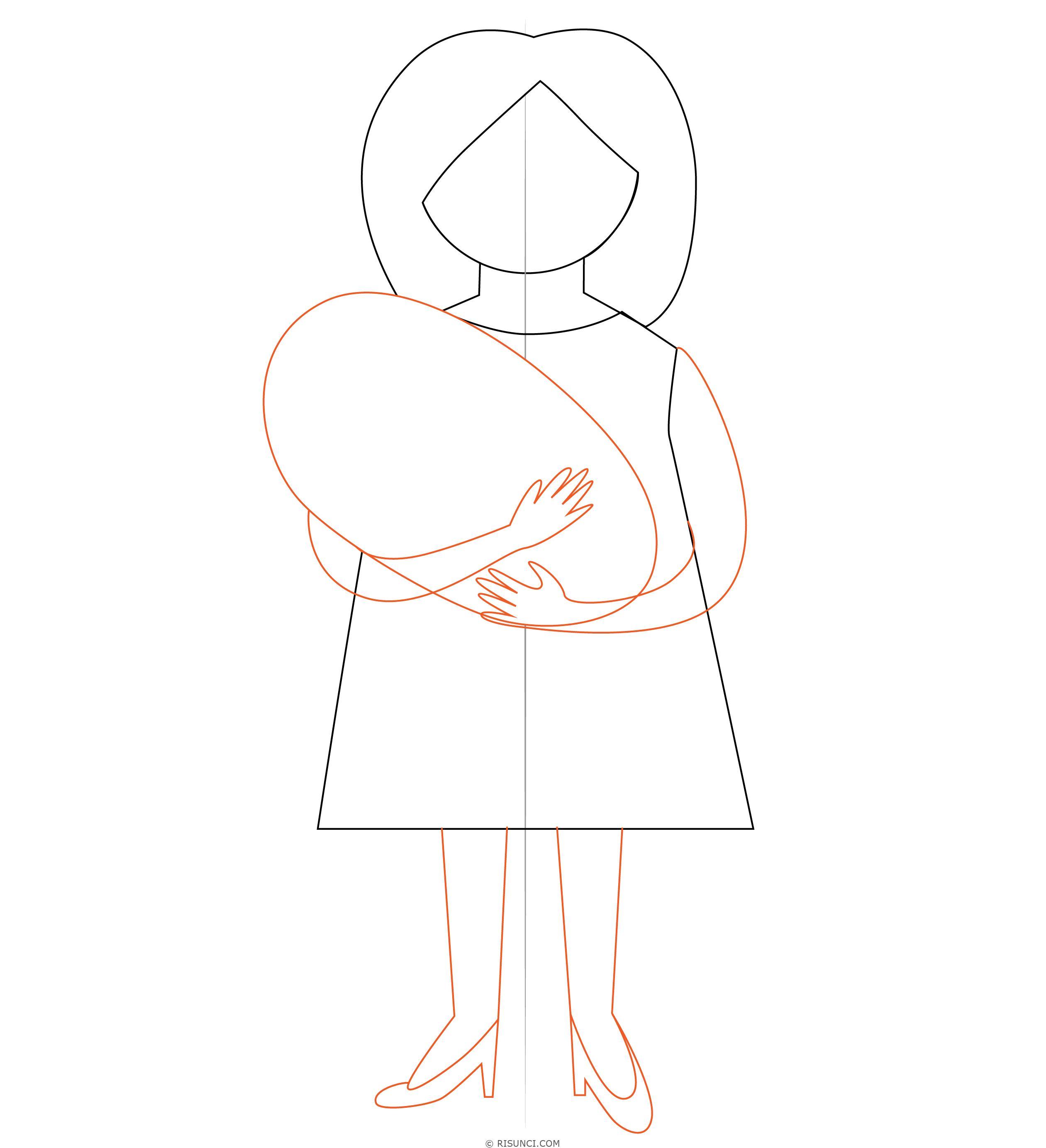 несколько рисунки как нарисовать маму дешевые безликие